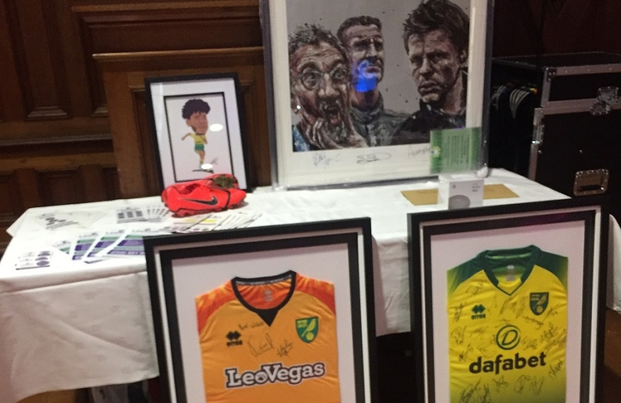 prizes in the Leeway Annual Ball auction