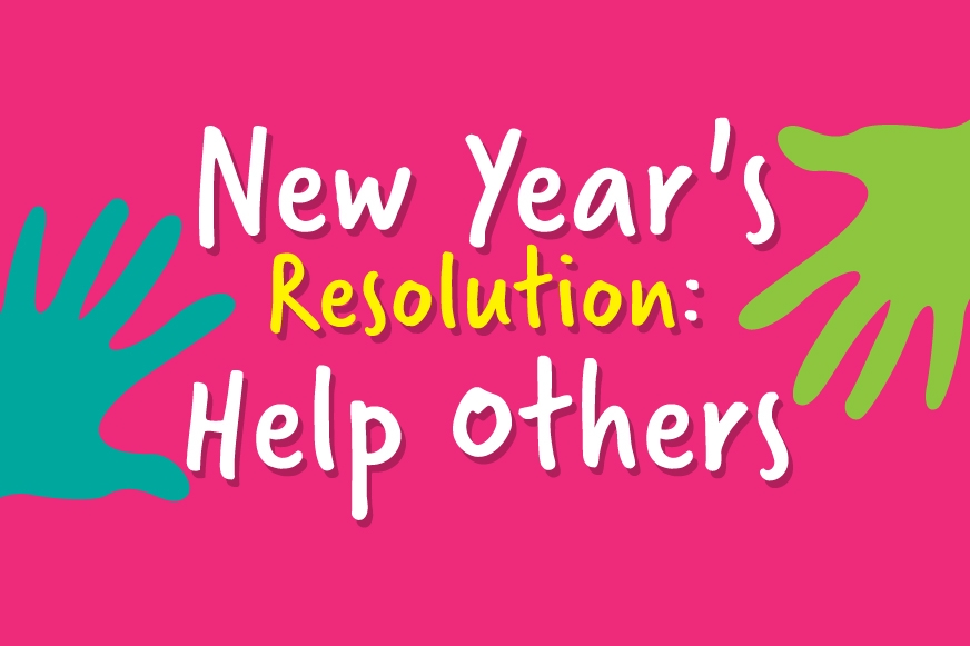 New year's resolution help others