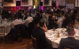 guests enjoy the Leeway annual ball