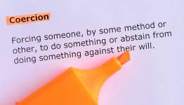 Description of coercion