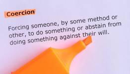 Description of coercion