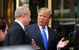 Trump in blue tie