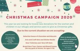 Christmas campaign poster