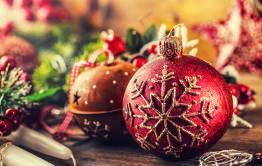 Christmas decorations for Leeway blog