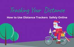 How to Track Distance Safely Online