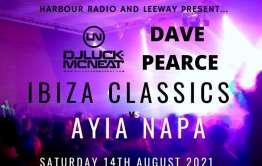 Ibiza classics event poster