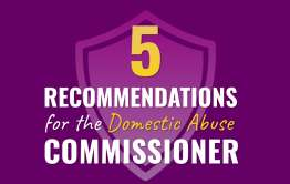 recommendations for domestic abuse commissioner