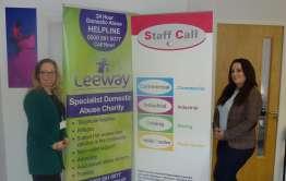 Leeway and Staff Call press photo