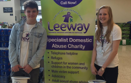 Leeway volunteers fundraising at Morrisons