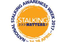 National stalking awareness week logo