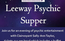 Psychic supper poster