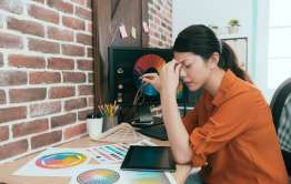 domestic abuse affects productivity of young artist
