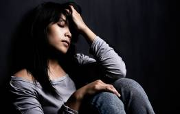 Young stressed woman