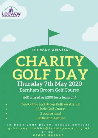 golf day 2020 poster